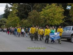 Basta de incendios forestales en la Patagonia