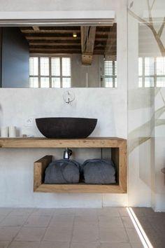 salle de bain zen bambou