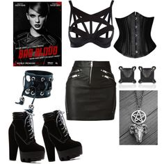 bad blood outfits by asktrivia on Polyvore featuring polyvore fashion style Diesel Agent Provocateur Eva Fehren Funk Plus