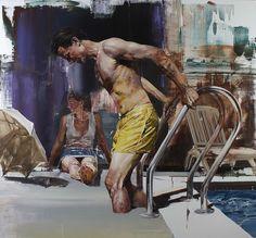 Pintura en oleo de Dan Voinea