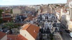 JR, quartier La Belle de Mai / Marseille. novembre 2013