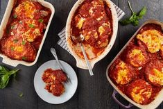 How to Make Chicken Parmesan, Eggplant Parmesan Without a Recipe Best Italian Recipes, Favorite Recipes, Eggplant Dishes, Eggplant Parmesan, Eggplant Zucchini, Canned Baked Beans, Vegetable Cutlets, Rosemary Recipes, Braised Lamb Shanks