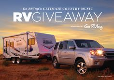 Enter the  Ultimate Country Music RV Giveaway for a chance to win a Lance 1685 Travel Trailer and a trip to Nashville for the CMA Music Festival!