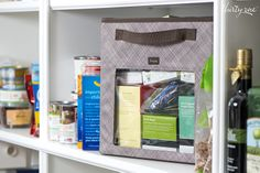Re-think how you organize! This smart solution features rigid sides, handles, a clear PVC window on one side to help find what you're after and an embroidery option for labeling.