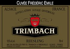 F E Trimbach Riesling Cuvee Frederic Emile, Alsace Alsace France, Wine Searcher, Label Image, Marketing Data, Notes, Lorraine, Larger, Champagne, Beer