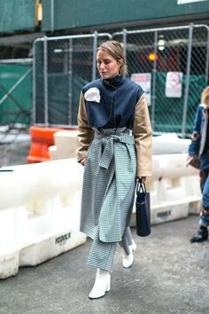 The Best Street Style from New York Fashion Week #newyorkfashion