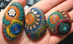 Balinese filigree with a twist in polymer clay