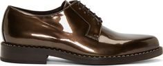 Jimmy Choo Old Dust Metallic Miles Derby Shoes