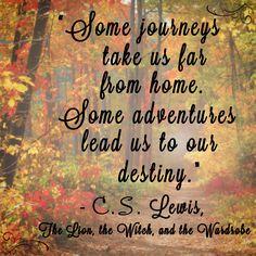 """Some journeys take"