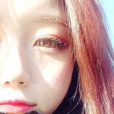 Ulzzang pretty shared by 『和你』✧🍯 on We Heart It Ulzzang Korean Girl, Cute Korean Girl, Ulzzang Couple, Asian Girl, Korean Beauty, Asian Beauty, Uzzlang Girl, Girls Makeup, Aesthetic Girl