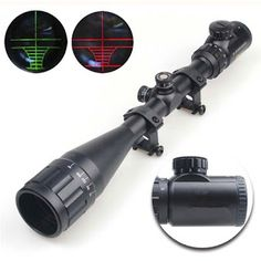 6-24X50 Adjustable Hunting Green Red Dot Illuminated Tactical Riflescope Reticle Optical Sight Scope for Shotgun Riflescopes (32657492951)  SEE MORE  #SuperDeals
