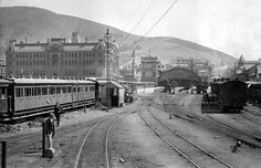 Cape Town Railway Station in South Africa in 🌍 Old Pictures, Old Photos, Locomotive, South African Railways, Cities In Africa, Most Beautiful Cities, Amazing Places, African History, Train Travel
