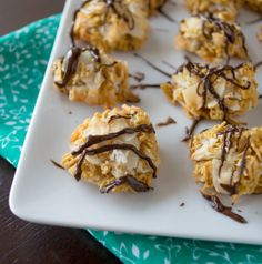 5 Ingredient Coconut Chex Macaroons | Healthy Nibbles and Bits {gluten free}
