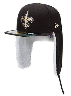 best loved 1f6bb ee514 NFL New Orleans Saints New Era 59Fifty Fitted Hat Size 6 7 8 Dog Ear Cap  5950 Sz  NewEra  NewOrleansSaints