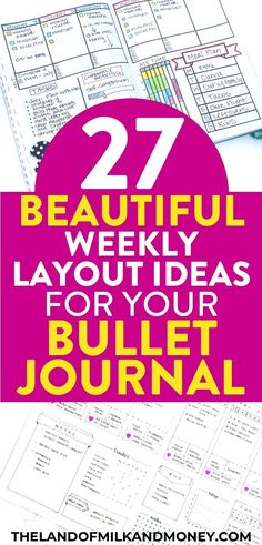 Check out these bullet journal weekly spread ideas for the key to help you setup your own bujo. Let these examples of other's doodles be your inspiration! Bullet Journal Work, Creating A Bullet Journal, Bullet Journal How To Start A, Bullet Journal Layout, Weekly Budget, Budget Binder, Planner Organisation, Finance Organization, Household Binder