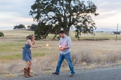 Chico California Wedding and Engagement Photography by TréCreative http://trecreative.com Sparkler Engagement Session