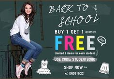 Test + Try =Results : LUCLUC Back To School Deals And A GIVEAWAY On Facebook!