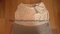 Handmade tricotaje: Fusta lunga crosetata