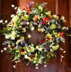 Image detail for -The Last Straw, Wreaths, Black Eyed Susan Wreath, Hops and Viburnum ...