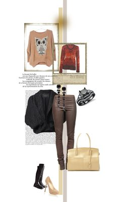 """""""Dressing up, dressing down"""" by ahhzen ❤ liked on Polyvore"""