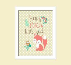 Fox Nursery Decor Wood Baby Blocks Retro Style By Miabooo 32 00 Children S Pinterest And