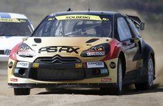 Citroen DS3 rallycross car