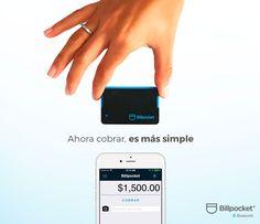 Más rápido, más cómodo y más seguro. Cobrar con el nuevo lector Billpocket Bluetooth hará que tus clientes disfruten de una mejor experiencia de compra y que tú vendas más. Consíguelo ahora en https://www.billpocket.com/
