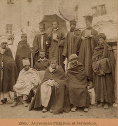 Abyssinian (Ethiopian)Christianpilgrims in Jerusalem