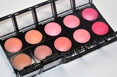 our beautiful baked blushes.