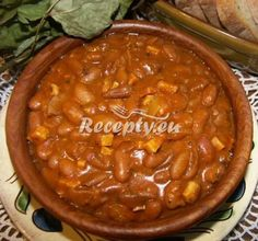 ▷ Americké fazole recept - Lusteniny.cz Chili, Beans, Soup, Vegetables, Chile, Chilis, Vegetable Recipes, Soups, Veggie Food