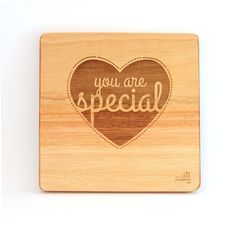 """""""You are special"""". A simple, creative design but such beautiful words. These can be bought individually or buy the whole set!"""
