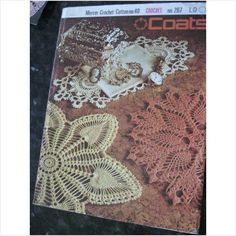 Coats crochet pattern 267 doiles on eBid United Kingdom