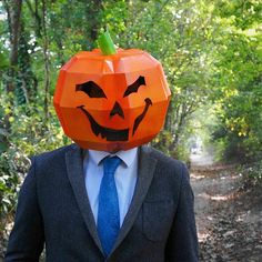 NEED A FANCY DRESS COSTUME? Make your own PUMPKIN MASK from recycled card with these easy to follow instructions.  These digital templates enable you to download, print and build your very own unique low polygon 3D Mask. You'll require no experience, no shipping and no waiting around to get started. The pumpkin is much more than an obese, orange member of the squash family. The pumpkin represents the harvest and most famously, our favourite day of the year here at Wintercroft…Halloween!  Our…