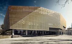 On Diseño - Proyectos: Edificio Polideportivo Parque de la Ciudadela