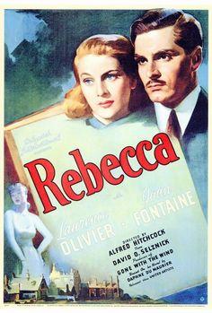 Rebecca 27x40 Movie Poster (1940)