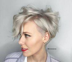 10 Kurzhaarfrisuren zur Inspiration an (1) - Frisuren Stil Haar