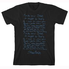 Go see @shawnmendes' Take Your Shot Lyric Tee