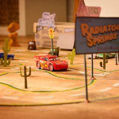 Radiator Springs' Rennstrecke