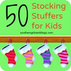 Stocking Stuffers for Kids Image