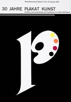 Hofmann, Armin poster: 30 Jahre Plakat Kunst