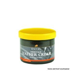 Lincoln Heritage Leather Cream The complete all in one leather treatment Cleans restores polishes and beautifies all leather tack.