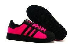 Hot Adidas Originals Superstar 2 Biały Czerwony Sprzedaż Lady Buty