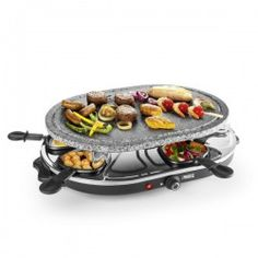 Princess 8 Oval Stone Grill Party