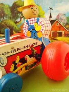 Fisher Price Little People Tractor - Fisher Price, East Aurora, NY