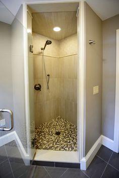 Lisa Scheff Designs - Guest Bathroom Shower