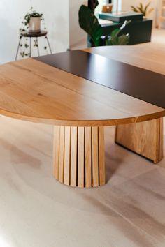 Træfolk_mjolner_udtræksplade-8 Dining Area, Dining Table, Pamplona, Wood, Furniture, Home Decor, Dining Room, Flats, Circuit