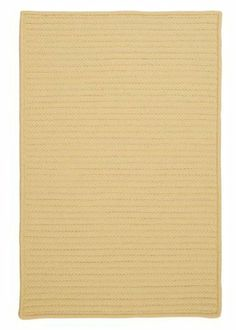 """Simply Home Solids Pale Banana Rug Rug Size: 27"""" x 46"""" by Colonial Mills. $61.99. H833R027X046S Rug Size: 27"""" x 46"""" Features: -Technique: Braided.-Material: 100pct Polypropylene.-Origin: USA.-Reversible.-Stain resistant.-Fade resistant. Construction: -Construction: Hand guided. Dimensions: -Pile height: 0.5"""".-Overall Dimensions: 34-168'' Height x 22-132'' Width x 0.5'' Depth. Collection: -Collection: Simply Home Solid."""