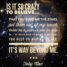 Image result for Beyond Me by TobyMac lyrics