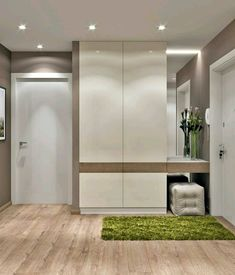Hey guys this is the first time when i write the description in english.i hope you can understand me ; Modern Entryway, Entryway Decor, Hall Furniture, Furniture Design, Decoration Hall, Entryway Closet, Bedroom Closet Design, Cupboard Design, Apartment Design