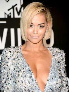 EXPLICIT INFORMATION: 'Poor Man's Rihanna: 'Blonde Rita Ora's Cleavage I...